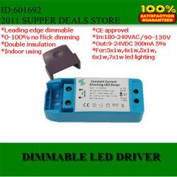 Светодиодный драйвер высокого качества с регулируемой яркостью подсветки Edge 3-7x1W 300 Ма/350 Ма 120/220V