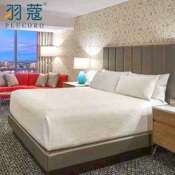 Los fabricantes directos de tamaño personalizado el rey de Egipto de satén de algodón 100% lino Hotel