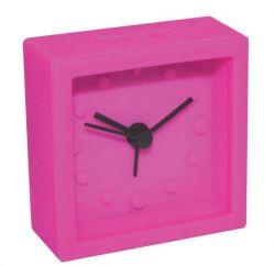 Promoción de la preciosa Candy colorida mesa de silicona Mini reloj alarma