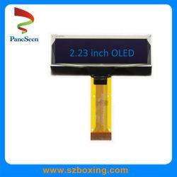 2.23 インチ青 OLED ディスプレイ、輝度 32resolution / M2 、 128 x 130CD / 8 ビット 8080 パラレル、 3/4 線 SPI 、 IIC インターフェイス