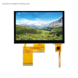 480X272 de petits écrans LCD TFT 4,3 pouces écran tactile capacitif module LCD