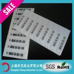 Vrije Sample EAS Label 58kHz EAS Dr. Label, EAS SOFT Label, EAS Security Label Yilong t-22