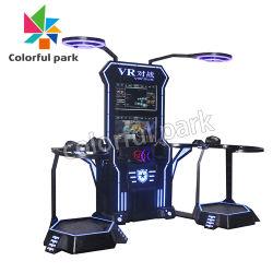 Parque colorido Disparos 2 Jugadores juego simulador de Vr Gafas Vr el juego de arcade de Realidad Virtual de la máquina