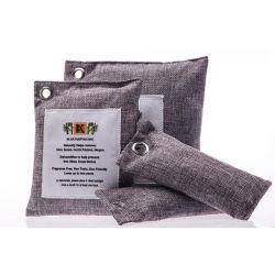 Carbón de bambú natural bolsas de purificación de aire