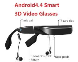 Manufacturer reale 98-Inch Mobile Theater Virtual 3D Android System Video Glasses con Video in linea