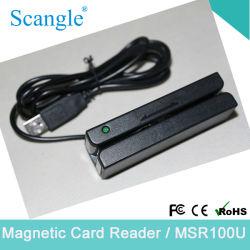 Spur 3 USB-Magnetkarten-Leser mit Doppel-Richtung Lesemöglichkeit