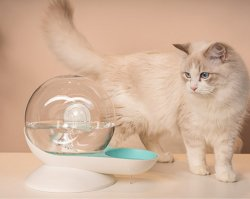 Пэт Snail-Shaped Cat автоматической подачи воды охладитель, BPA свободной воды фонтан диспенсер, Waterer для кошек собак мелких животных, емкость: 2.8L (99oz) Esg16606