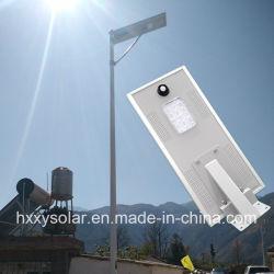 12W integrado LED solares de Jardín de luz de la calle con todo en uno