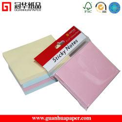 Weicher Papierdeckel-klebrige Anmerkungs-Auflage-Protokoll-Anmerkungen