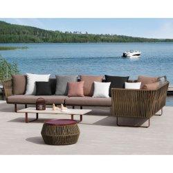 Горячие продажи в Европейском стиле мебелью сад диван установлен современный патио диван мебель
