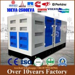 Moins de carburant à bas régime de sauvegarde génératrices diesel électrique