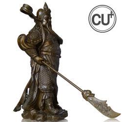 La sculpture en bronze héros et de Confucius statue pour décoration maison