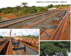 Grande ponticello del blocco per grafici d'acciaio della H-Sezione, strada principale trasversale del fiume o ponticello ferroviario