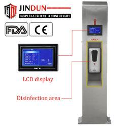 Non termometro infrarosso pubblico termico automatico del corpo umano del fornitore del contatto