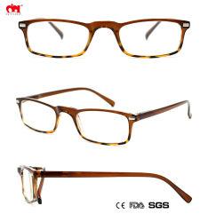 Groothandel Hot Sale Slim Square Reading Eyewear Fashion vier kleuren Plastic man-leessaglazen (WRP904202)