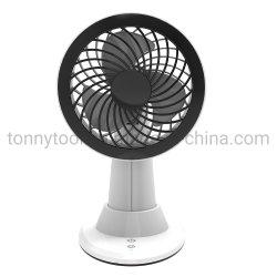 """"""" ventilatore mini d'oscillazione del USB dell'automobile ricaricabile 5 con uno scrittorio di 3 velocità/ventilatore da tavolo"""