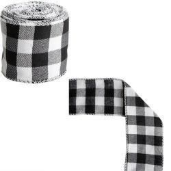 In het groot Schotse Lint die het Van uitstekende kwaliteit van 100% Schotse Ribbon&#160 snijden; voor Kledingstukken/Zakken/de Textiel van het Huis van de Fabriek van China