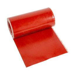 Tissu en fibre de verre enduit de silicone colorées pour tissu ignifuge