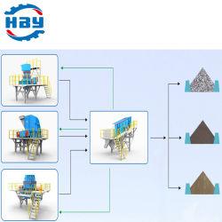50T/H 고효율 선별 및 모래 제조 공장 제조업체
