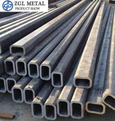 ASTM tubulaire carré en acier au carbone Gra&B Pipe SAE 1020 St44 P195 P265 345 déformé tube sans soudure en acier tuyaux rectangulaire en acier allié de A106 A53 en acier de laminage à froid