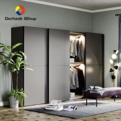أثاث غرفة نوم بتصميم فريد وخزانة أبواب منزلقة حديثة