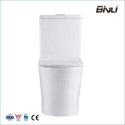 العلامة المائية الصينية المصنع السعر المباشر السيراميك WC تورنادو قطعتين مرحاض للبيع النادل الصحية