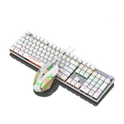 لوحة مفاتيح سلكية مريحة مقاومة للماء لجهاز الكمبيوتر الشخصي Mac PS4