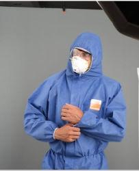 Одноразовые нетканые SMS типа 5, Тип6, Сертификация CE для общей и защитной одежды с хорошей проницаемостью воздуха.