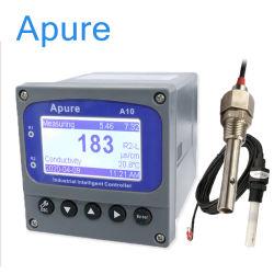 PH en línea del controlador de TDS Ec medidor de resistividad eléctrica digital