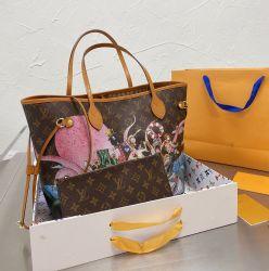 2020 Heißer Verkauf Mode Replik Große Kapazität Leder Damen Hangbag Tasche