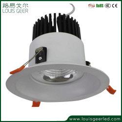 고품질 내재되어 있던 훈장 프레임 10W 15W 25W 30W Dimmable LED는 비상사태 백업 건전지로 아래로 점화한다