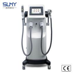 Sume Doppelt-Griff neueste heiße verkaufen2 in 1 Haar-Abbau Shr IPL Nd YAG Laser-Multifunktionsschönheits-Salon-Gerät