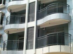 Smeedijzeren metalen Guardrail Curve Balkon Fence