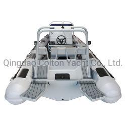 580cm rígida de alumínio Barcos insufláveis, barco de pesca, Personalizar Costela Boat