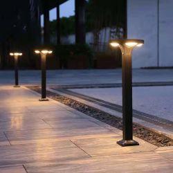 أحدث تصميم حديث 5 واط LED الحديقة الشمسية الضوء الحديقة الشمسية مصباح IP65 مقاوم للمياه
