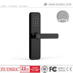 قفل باب بصمة الإصبع Smart Home WiFi مع بطاقة تعريف و اجتز كلمة