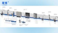 Los fabricantes de China Línea de vidrio automática de doble acristalamiento de la línea de producción de vidrio