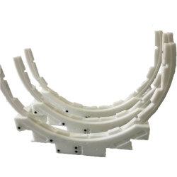 POM/PA/ABS Plastik zerteilt Delrin materielle Plastik-CNC-Teile