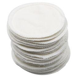I panni di pulizia facciali di vendite dirette della fabbrica per trucco dell'occhio rimuovono i rilievi di cotone di bambù del Wipe del fronte