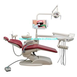 세륨 & ISO 승인되는 최고 의학 치과 계기 장비 완전한 치과 의자 전기 치과 단위