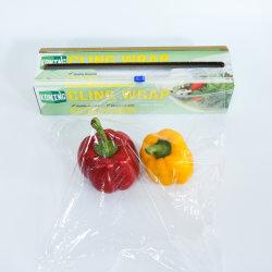 全食品使用のための Koning 非 PVC 全目的 ディスペンサーパックの包装プレミアムプラスチックリングフィルム包装 スライダカッター