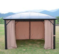غطاء خيمة خارجية رومانية من الألومنيوم هيكل بافليون مظلة قويّة