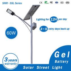 Экономия энергии для использования вне помещений солнечного освещения улиц литиевая батарея Super яркий индикатор лампы уличного освещения