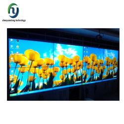 Alimentación directa de fábrica el bisel ultra estrecho de la pared de vídeo LCD bisel ultra delgado paredes TV LCD 46 pulgadas perfecta pared TV