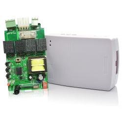 Usine moteur AC220V côté récepteur RF de 433 MHz Contrôleur sans fil à code évolutif avec cellule photoélectrique pour porte de garage automatique encore866