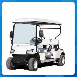 Fabricação de carrinhos de golfe aprovado pela CE 2+2 Lugares Rebater o assento elevador eléctrico de carrinhos de golfe