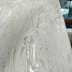"""90""""*90"""" Square marfim e Ouro Tampa da mesa elegante Jacquard roupas para casamento em Guanzhou"""