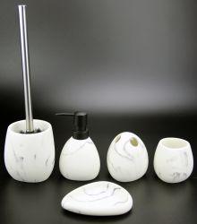 Directa de Fábrica de artículos del hogar Polyresin Conjunto de accesorios de baño