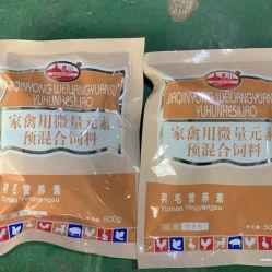 가금류 미량 원소 미량 원소 공급, 페킹 페더 및 아합초 미네랄 물질 비사용 방지 사전 혼합 공급 첨가제