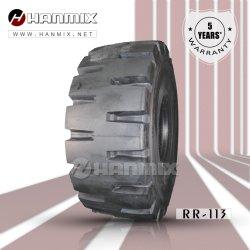 The-Road Hanmix off-pneu radial de l'Agriculture, de nivelage niveleuse chargeuse Ind navette souterrain de chariot E3L3 E4L4 L5l5s 20.5R25 23,5 26,5 R25 R25 29.5R25 OTR pneu 35/65R33